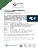 Nota de Prensa Seminario Industrias Creativas