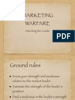 Marketing Warfare - Attacking the Leader