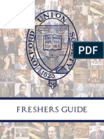 MT13 Oxford Union Freshers Guide