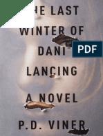 The Last Winter of Dani Lancing by P.D. Viner - Excerpt