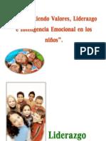 Liderazgo Valores e Inteligencia Emocional