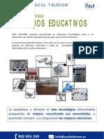 Azul Telecom - Dosier St Centros Educativos_v2.2