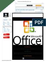Descargar Microsoft Office 2007 Gratis [Full] - Identi