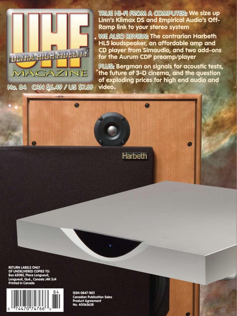 True Hi Fi From A Computer We Size Loudspeaker Lp Record Hifi Ipod Amplifier Circuit Using Ic 741 Electronic