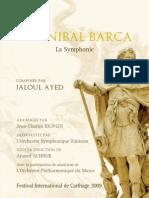 Programme Symphonie Hannibal Barca - Festival de Carthage 2009