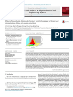 Effect of Interfacial Dilational Rheology on the Breakage of Dispersed Droplets in a Dilute Oil Water Emulsion 2014 Colloids and Surfaces a Physicochemical and Engineering Aspects