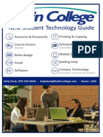 New Student Technology guide