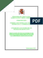 Análisis sistemas de producción_explotaciones hortofrutícolas CV_2011