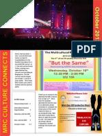 MRC November Newsletter 2013