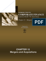 Chapter 15 - Mergers and Acquisitions