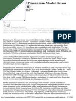 Mengkritisi UU Penanaman Modal Dalam Negeri(Bag2)