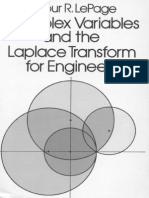 Complex Variables & the Laplace Transform for Engineers