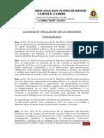 Reglamento de La Unidad de Vinculacion y Reglamento de Pasantias y Practicas Preprofesionales 30may2012