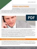 SESTEK Voice Biometrics