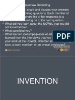 Invention Strategies