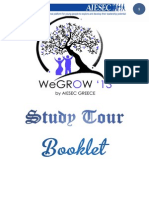 AIESEC WeGrow '13 Official Study Tour Booklet