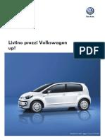 Listino Prezzi Volkswagen Up