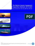 The Marine Seismic Equipment and Acquisition Markets 2013-2023