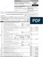 Harrisburg University's 2007 990 form