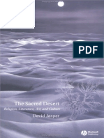 David Jasper the Sacred Desert Religion Literature Art and Culture