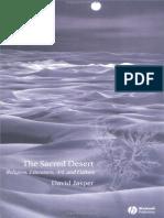 David Jasper the Sacred Desert Religion Literature Art and Culture