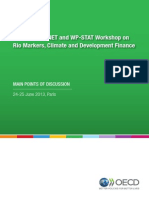 OECD ENVIRONET and WP-STAT workshop on rio markers, climate and development finance