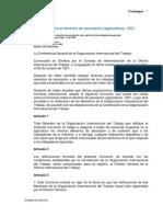 C011 Sobre derecho de asociación agricultura
