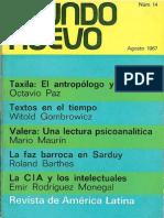 Mundo Nuevo 14 Agosto 1967