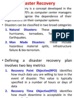 1- Disaster Recovery in Cloud Computing