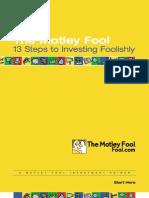 Motley Fool - 13 Steps to Investing Foolishly