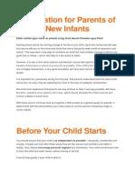 info for junior infants-new pupils