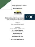 Didactica de Los Estudios Sociales