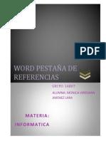 WORD PESTAÑA DE REFERENCIAS (2)