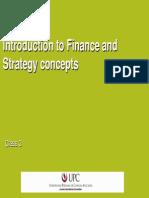 2- Introduccion a Finanzas y Estrategia Basica