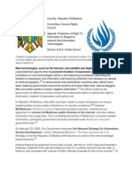 position paper for republic of moldova