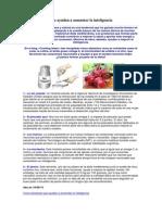 Cinco Alimentos Que Ayudan a Aumentar La Inteligencia