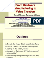 Presentation on Taiwan's Economic Development (1)