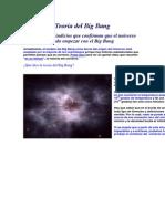 Teoría del Big Bang