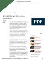 Afonso Arinos de Melo Franco Relembra Passado Em Livro