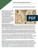 Richard Hakluyt e La Nascita Della Geografia Moderna