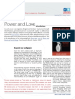 Adam Kahane (2009) Power & Love – Oxford Leadership Journal