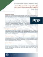 Pós-graduação Direito - Letras (29.7.2013)