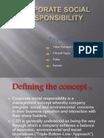 Corporate Social Responsibility of TESCO