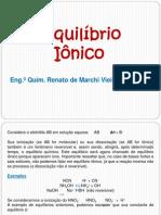Equilibrio Ionico - Modulo II