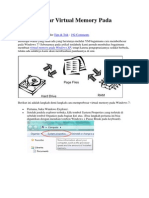 Cara Memperbesar Virtual Memory Pada Windows 7