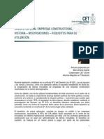 Credito Especial Empresas Constructoras (CEEC)