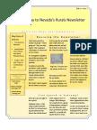 V1 N1 Nye-Gateway to Nevada's Rurals