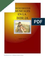 Instrumentos Musicales Enla Biblia