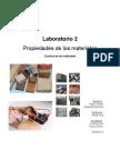 Informe de Química de los materiales N°2