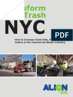 Transform Dont Trash NYC Report